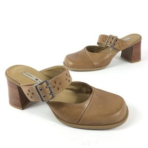 Tommy Hilfiger Mary Jane Style Open Back Shoes